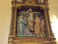 11. Jezus ant kriżiaus mirszta.