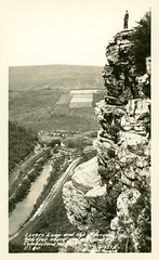 Lover's Leap and the Narrows, Cumberland, Maryland