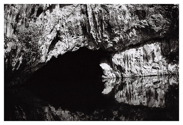 Mystery of the black cave