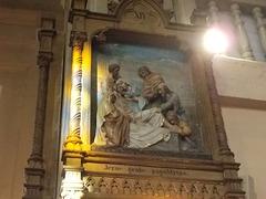 13. Jezus grabe paguldytas.