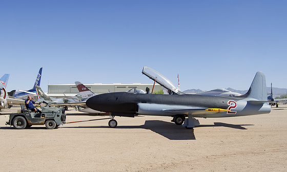 "Lockheed T-33 Shooting Star ""Yak-12"""