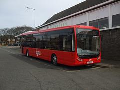 DSCF8840 Lynx (Coastal Red Limited) 4 (YJ55 BKK) in Hunstanton - 12 Apr 2015