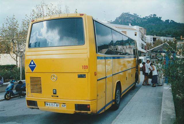 Autocares Andraitx 109 (PM 6151 AF) - 30 Oct 2000