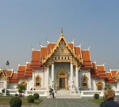 วัดเบญจมบพิตร   : Le temple de marbre