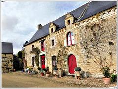 Maison rénovée à la Sècherie de Saint Maden (22)