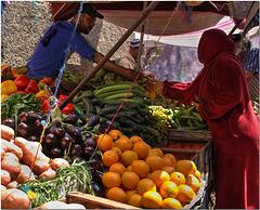 Street Market, Fez