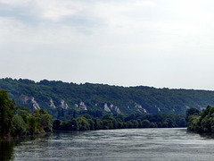 La Roche-Guyon - La Seine