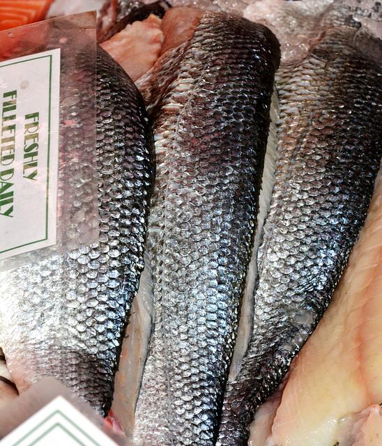 Fish Stall.Grainger Market