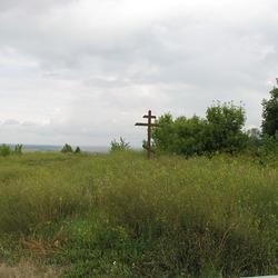 Поклонный крест у с. Мамешево (Пильненский р-н, Нижегородская обл.)