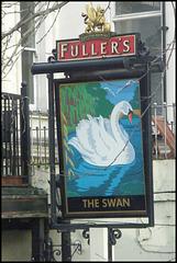 Fuller's Swan sign