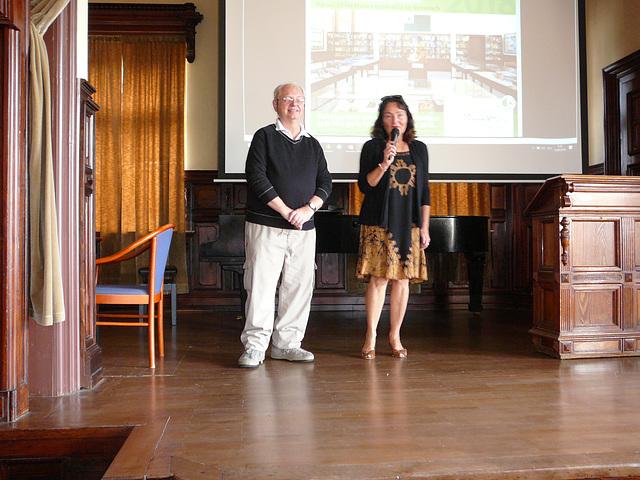 Blanka Čuhelová, direktorino de la Urba Muzeo kaj Galerio en Svitavy rakontas pri siaj rememorj pri la estiĝo de la Esperanto-Muzeo