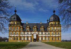 Schloss Seehof - barocke Sommerresidenz der Bamberger Fürstbischöfe - Château de Seehof - mit PiP