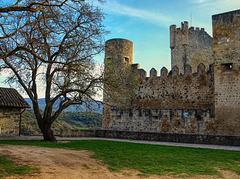 Castillo de Frias, Burgos.