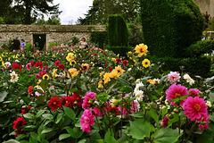 Flower Garden, Avebury Manor, Wiltshire
