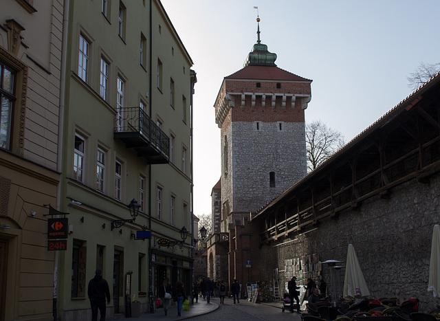 Poland, Krakow Old Town (#2270)