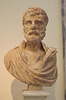 Portrait of Herodes Atticus from Kephisia in the National Archaeological Museum of Athens, May 2014