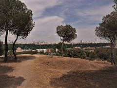 H. A. N. W. E. everyone! Madrid from the Casa de Campo.