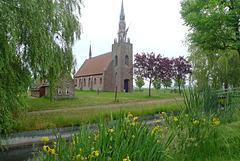 Nederland - Den Ham, Kerkje Harkema