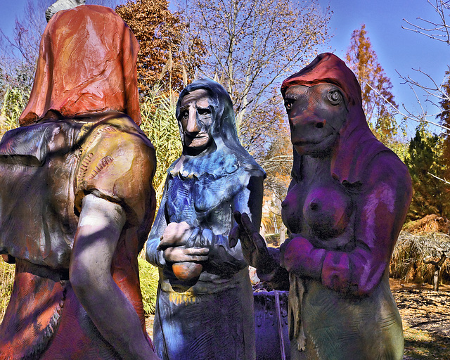 """""""The Three Fates"""" – Grounds for Sculpture, Hamilton Township, Trenton, New Jersey"""