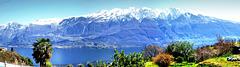 Der Westkamm des Monte Baldo. ©UdoSm