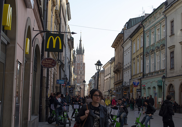 Poland, Krakow Old Town McDonald's (#2271)