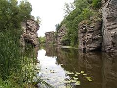 Каньон реки Горный Тикич