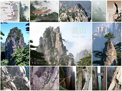 Some Huang Shan Yellow Mountains Splendors