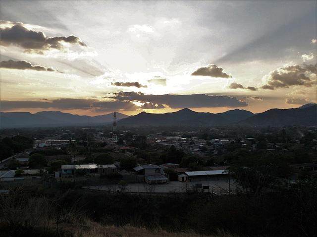 Spectacle céleste (Nicaragua)