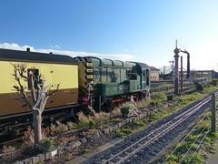 D4100 at Kidderminster (SVR) - 30 November 2018