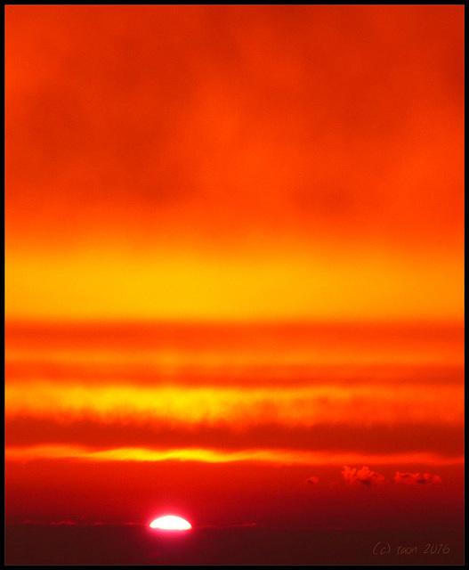 the last sunset (?)