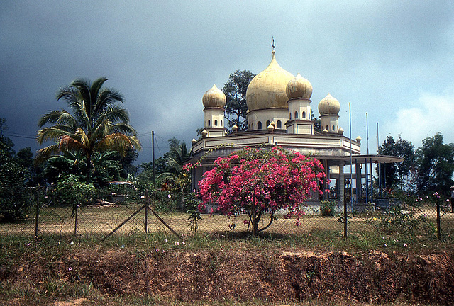 Masjid Bukit Bendera Moschee auf Penang 1981