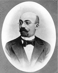 Malmuilte konata portreto de L.L.Zamenhof el 1885