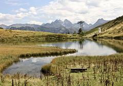 Der Schlappholtsee am Fellhorn