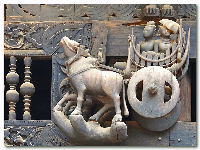 Details of the Facade of Yoke Sone Kyaung