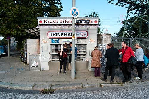 Ausstellung am Kiosk Blohmstraße --- kiosk-1210736-co-12-09-15
