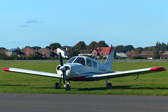 G-WOLF at Solent Airport - 23 September 2017
