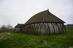 Denmark, Viking Castle Fyrkat, Typical Viking House