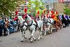 Leidens Ontzet 2017 – Parade – White horses