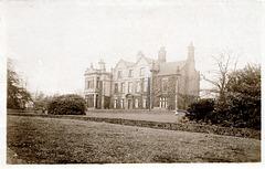Norwood Hall, Sheffield, South Yorkshire (Demolished c1973)