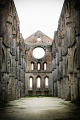 Ruins of San Galgano abbey