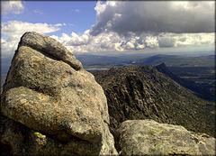 La Sierra de La Cabrera. Pure granite