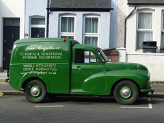 Green Morris Van (1) - 12 September 2020