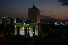 Sunset over Ashgabat, Altyn Yyldyz Shop