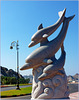 Oman - Mutrah : una scultura marina sulla lunga passeggiata nel golfo