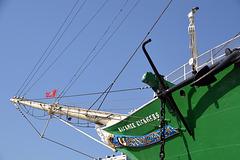 Schiffsgeschichte im Hamburger Hafen