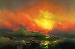 La Neuvième Vague, par Ivan Aivazovsky