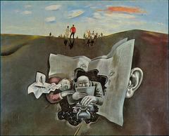 Wolfgang Mattheuer: Horizont, Öl auf Leinwand, 1970