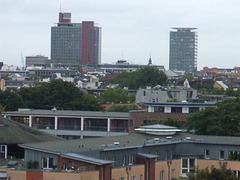 Blick über Hamburg St. Pauli Richtung Süden