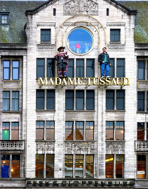 el museo de cera en Amsterdam - Se dice muchas historias ... (442)
