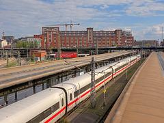 14 - ehemaliges Bahnpostamt am Hühnerposten vom Hamburger Hauptbahnhof aus gesehen